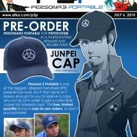 Haz tu pre-order de P3P y recibe la gorra de Junpei