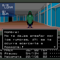 Ya está disponible el primer parche de traducción de Shin Megami Tensei al castellano