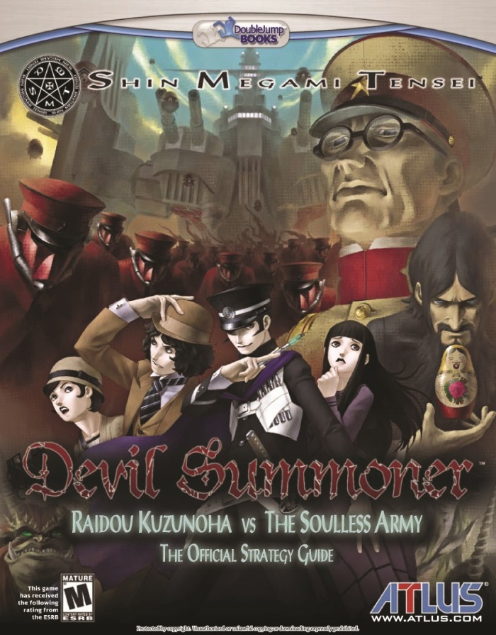 Shin Megami Tensei Devil Summoner Official Strategy Guide