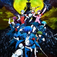 Ilustración promocional de la cuarta y última película de Persona 3