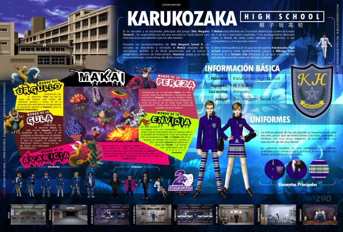 [Infografia][ES] Karukozaka HighSchool