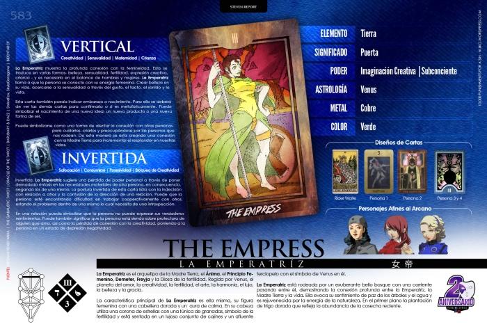 [Infografia][ES] III - THE EMPRESS