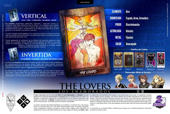 [Infografia][ES] VI - THE LOVERS