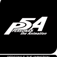 Portada y páginas de muestra del artbook de P5: the Animation